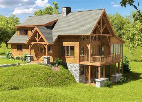 Pennsylvania Timber Frame Homes Rw Buff Timber Frames Timber Frame Home Plans Pennsylvania