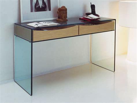 Contemporary Console Table Gulliver Modern Glass Console Table By Tonelli Nova68 Modern Design