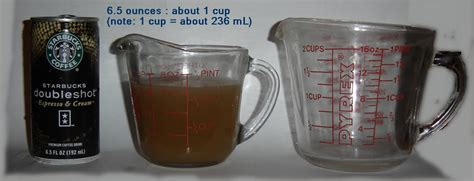 1 cup equals how many ounces