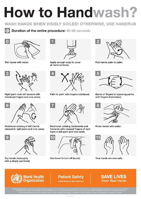 printable poster for hand washing out went the light september 2014