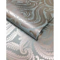 i love wallpaper shimmer damask metallic wallpaper teal silver ilw980012 i love wallpaper