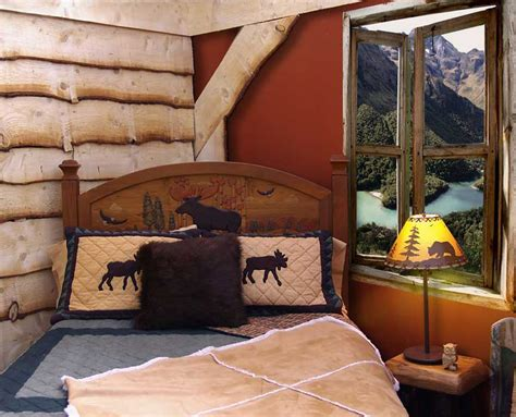 cabin bedroom ideas cabin theme bedrooms rustic decor