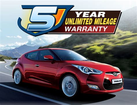 hyundai s 5 year unlimited mileage warranty is an industry