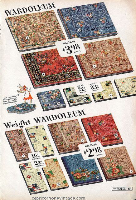 linoleum rugs for sale montgomery ward great sale 1941 catalog wardoleum linoleum flooring that looks like