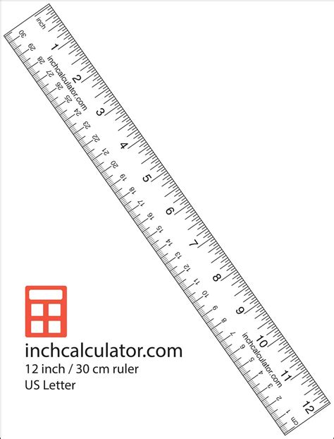 Printable Free Ruler | printable rulers free downloadable 12 quot rulers inch