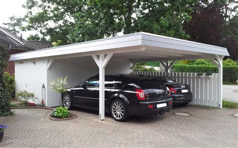 Carport Mit überdachung Des Eingangs by Carport Richter Z 228 Une Carports