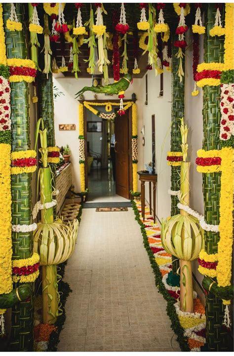at the decorations coconut leaf pillars wedding decoration