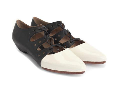fluevog shoes fluevog shoes shop coal black white two toned