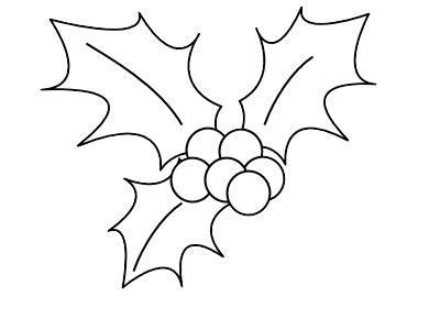 christmas coloring pages holly leaves christmas holly coloring pages getcoloringpages com