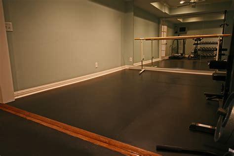 specialty flooring installation for a studio