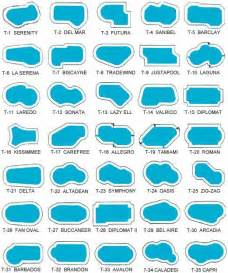 pool sizes and shapes pool shapes angeles and los angeles county on pinterest
