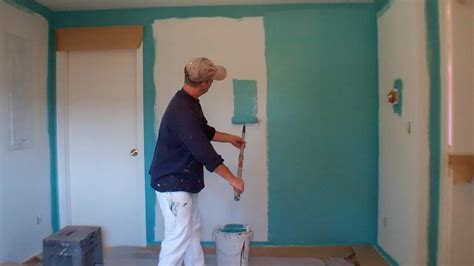 painting on wall interior painting step 3 painting the walls youtube