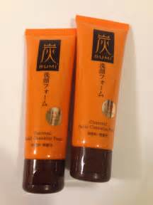 Daiso Foam Cleanser Charcoal daiso japan sumi charcoal cleansing foam 80g x 2