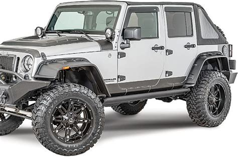Jeep Jk Flares Rage Products 7260640 Rage Products Fx Flat Style