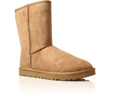mens brown ugg boots ugg mens classic sheepskin boot in brown for
