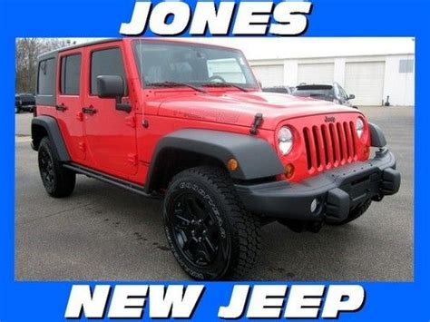 Jeep Msrp Purchase New New 2013 Jeep Wrangler Unlimited 4wd