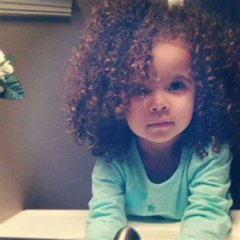 skull cut baby curls for black hair curly baby girl natural curls hair someday