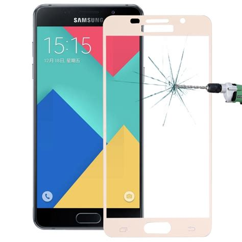 Galaxy A5 2016 A510 Tempered Glass 026 Mm 25d 9h for samsung galaxy a5 2016 a510 0 26mm 9h surface