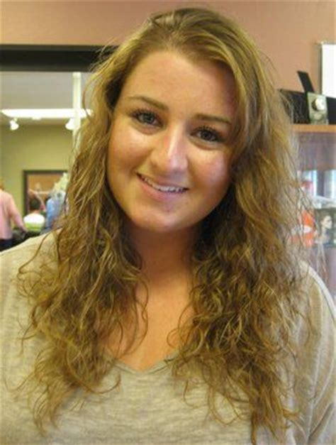 haircut before or after a bodybperm body wave curls and body wave perm on pinterest