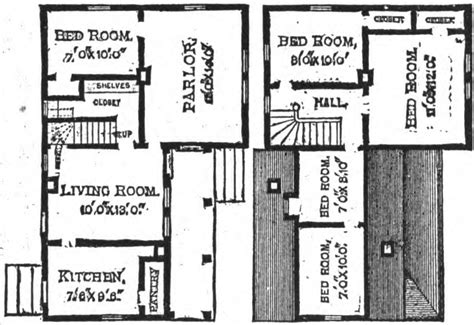 19th century floor plans 19th century historical tidbits 1895 rural house plans