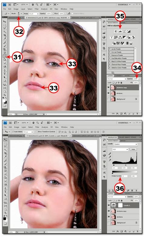 cara edit foto dengan photoshop menghilangkan jerawat cara menghilangkan jerawat pada foto di photoshop arfin blog