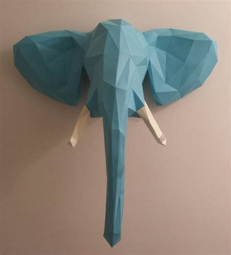 welcome to the jungle elephant papercraft 11 steps