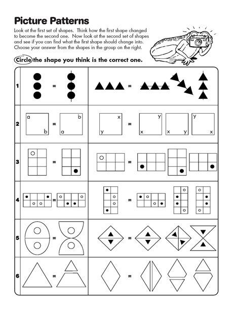 pattern practice worksheet math analogies practice worksheet sle practice tests