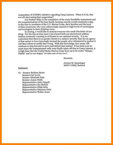 Business Letter Format For Enclosures And Cc 4 formal letter format with cc teller resume letter