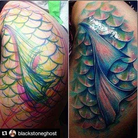 mermaid scale tattoos best 25 mermaid scales ideas on scale