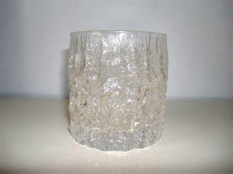whitefriars glass glass pottery glass whitefriars glass bark tumbler vintage barware