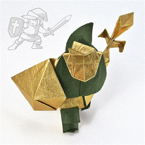 Origami Legend - videogame origami part 2 nintendo and square enix