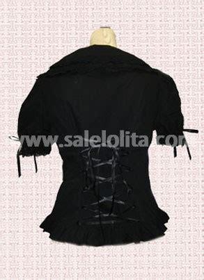 Blouse Cemara Puff Murah black blouse with puff sleeves blue denim blouses