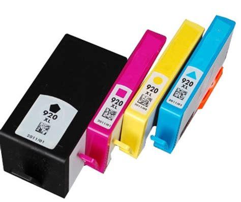 Tinta Printer Hp 920xl ink hp 920xl hp 920 ink 920xl inkjet cartridges set of 4
