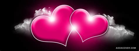 Pink Hearts Cover Photos For Facebook Pink Hearts