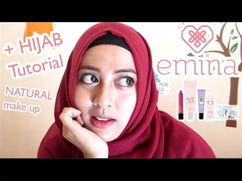 tutorial makeup emina emina cosmetics one brand tutorial hijab indonesia