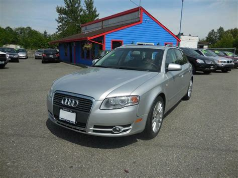 Audi A4 Station Wagon For Sale by 2006 Gasoline Audi A4 Station Wagon For Sale 24 Used Cars