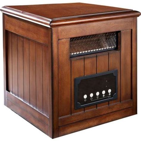 muskoka 1500 watt decorative side table infrared heater