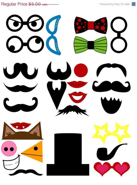 26 printable photo booth props moustache 1000 images about mustache cake ideas on pinterest