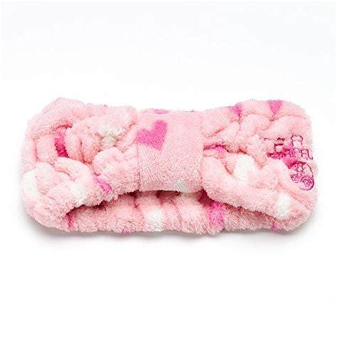 Makeup Headband Hello Pink earth therapeutics cosmetic headband pink w hearts design earth therapeutics beautil