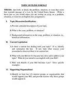 Topical Outline Template by Best Photos Of Sle Outline Using Apa Format Apa