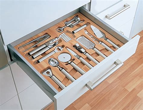 In Drawer Storage Organizers by Mise En Place Kitchen Tool Drawer Organizers Remodelista
