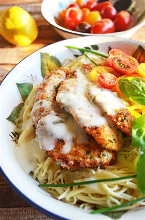 parmesan crusted chicken parmesan crusted chicken with herb butter sauce recipe