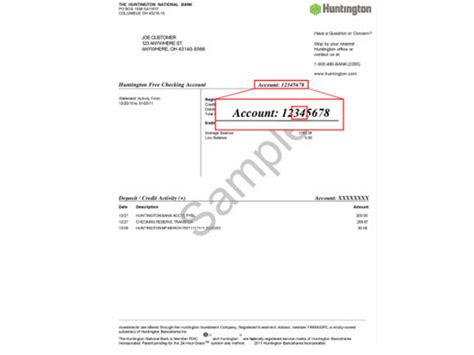 Bank Letter With Routing Number Four Ways To Find Huntington Bank Routing Number Bank Deal