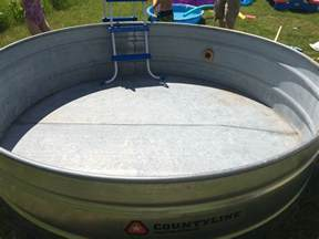 horse trough pool home