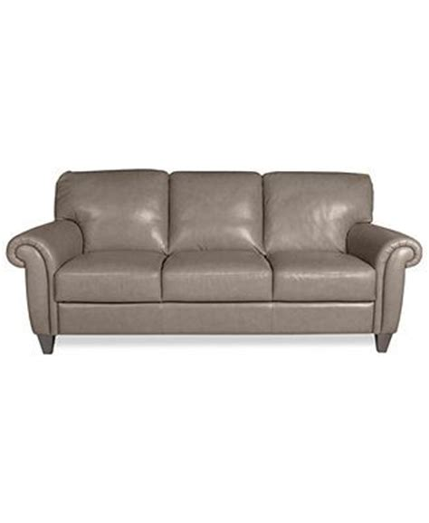 macy s grey leather sofa arianna leather sofa macy s about 1000 comes brown