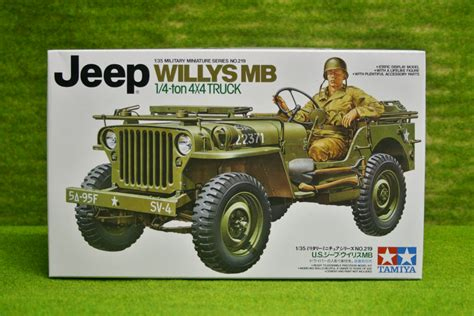 tamiya willys jeep tamiya u s willys mb jeep 4 x 4 truck 1 35 scale kit