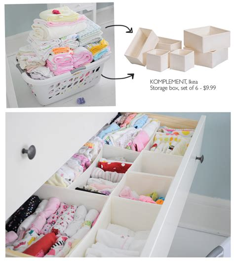 Baby In Drawer by Organizing Baby Drawers Pinpoint