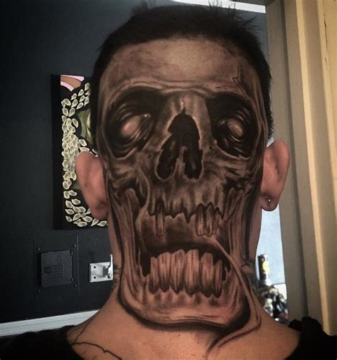 tattoo back of head back of the head tattoo atbge