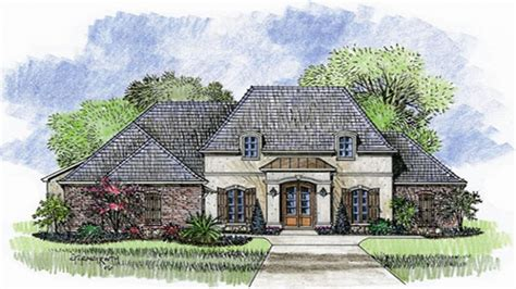 country french house plans one story house plans french country one story french