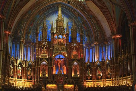 Notre Dame Cathedral Interior by Panoramio Photo Of Inside Notre Dame Cathedral Montreal